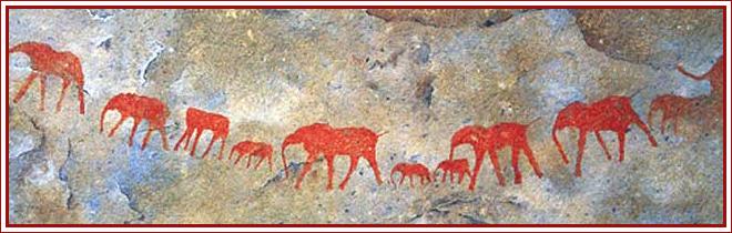 Oudtshoorn History - Bushmen Paintings
