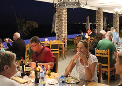 Dinner at Mooiplaas Guest House